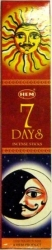 View Buying Options For The HEM Seven Days Boxed 35 Stick Incense Pack [Pre-Pack]