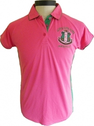 View Buying Options For The Alpha Kappa Alpha Crest Dri-Fit Ladies Polo Shirt
