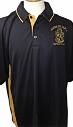 View Buying Options For The Buffalo Dallas Alpha Phi Alpha Shield Dri-Fit Mens Polo Shirt