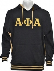 View Buying Options For The Alpha Phi Alpha Applique Pullover Mens Hoodie