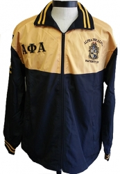 View Buying Options For The Buffalo Dallas Alpha Phi Alpha Shield Embroidered Mens Track Jacket