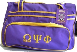 View Buying Options For The Omega Psi Phi Carry-On Luggage Trolley Bag