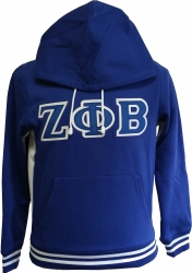 View Buying Options For The Zeta Phi Beta Applique Pullover Ladies Hoodie