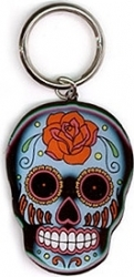 View Buying Options For The Sugar Skull Metal Keyring