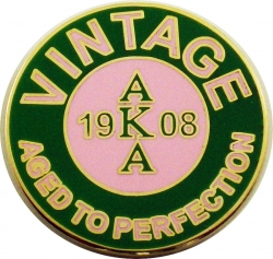 View Buying Options For The Alpha Kappa Alpha Vintage Lapel Pin