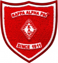 View Buying Options For The Kappa Alpha Psi Shield Chenille Sew-On Patch