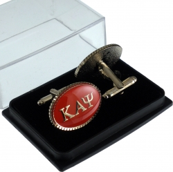 View Buying Options For The Kappa Alpha Psi Oval Mens Cufflinks