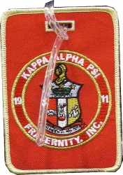 View Buying Options For The Kappa Alpha Psi Fraternity, Inc. Round Crest Luggage Tag