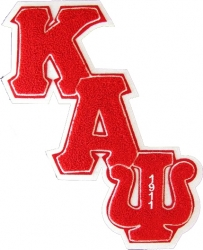 View Buying Options For The Kappa Alpha Psi Diagonal Connected Chenille Sew-On Patch