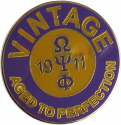 View Buying Options For The Omega Psi Phi Vintage Lapel Pin