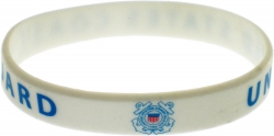 View Buying Options For The Eagle Crest United States Coast Guard Silicone Rubber Wristband [Pre-Pack]