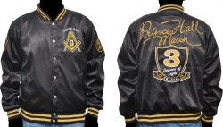 View Buying Options For The Prince Hall Mason Divine Mens Satin Jacket