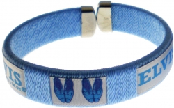 View Buying Options For The Elvis Presley Blue Suede Shoe Tube Wristband Bracelet [Pre-Pack]
