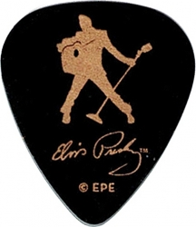 View Buying Options For The Elvis Presley Silhouette Plastic Guitar Pick
