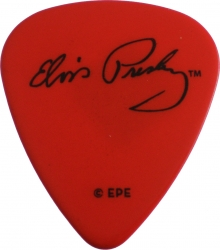 View Buying Options For The Elvis Presley Signature Plastic Guitar Pick