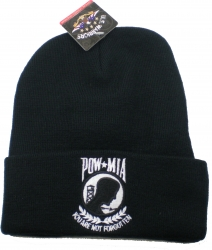View Buying Options For The POW MIA Shield Logo Cuff Mens Beanie Cap