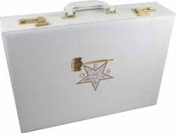 View Buying Options For The Eastern Star Past Matron Attache Briefcase