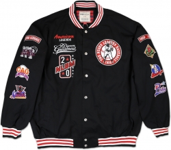 View Buying Options For The Negro League Baseball Commemorative S4 Mens Twill Jacket