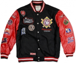 View Buying Options For The Negro League Baseball S8 Mens Varsity Jacket