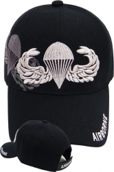 View Buying Options For The Airborne Parachutist Badge Shadow Mens Cap