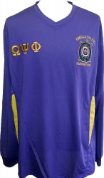 View Buying Options For The Omega Psi Phi Escutcheon Shield Dri-Fit Mens Tee