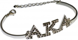 View Buying Options For The Alpha Kappa Alpha Austrian Crystal Bracelet