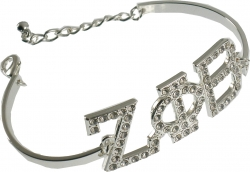 View Buying Options For The Zeta Phi Beta Austrian Crystal Bracelet