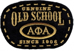 View Buying Options For The Alpha Phi Alpha Old School Scissor Cut Iron-On Patch
