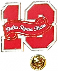 View Buying Options For The Delta Sigma Theta 13 Founded Year Lapel Pin