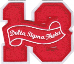 View Buying Options For The Delta Sigma Theta 13 Founded Year Chenille Felt Sew-On Patch