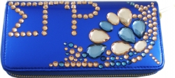 View Buying Options For The Sigma Gamma Rho Rhinestone Divine 9 Ladies Wallet
