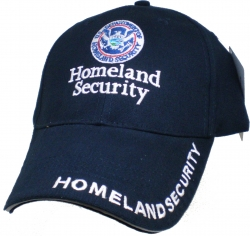 View Buying Options For The Homeland Security Small Logo Mens Cap