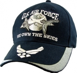 View Buying Options For The U.S. Air Force We Own The Skies Mens Cap