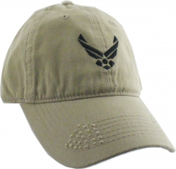 View Buying Options For The Air Force USAF Logo Unstructured Mens Cap