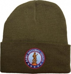 View Buying Options For The Army National Guard Logo Cuff Beanie Watch Cap