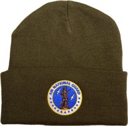 View Buying Options For The Air National Guard Logo Cuff Beanie Watch Cap