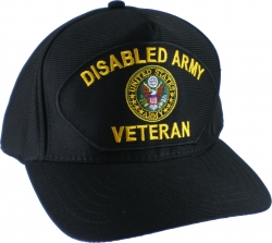 View Buying Options For The Disabled Army Veteran Emblematic Mens Cap