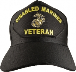 View Buying Options For The Disabled Marines Veteran Emblematic Mens Cap