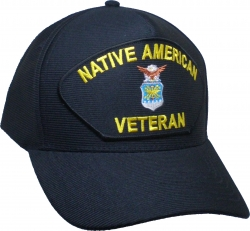 View Buying Options For The Native American Air Force Veteran Emblematic Mens Cap