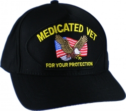 View Buying Options For The Medicated Vet for Your Protection Emblematic Mens Cap