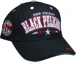 View Buying Options For The New Orleans Black Pelicans Legends S2 Mens Baseball Cap