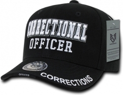 View Buying Options For The RapDom Correctional Officer Deluxe Law Enf. Mens Cap
