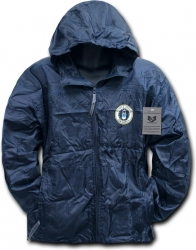 View Buying Options For The RapDom Air Force Zip-Up Hooded Mens Windbreaker Jacket