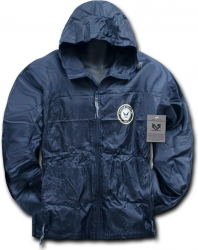 View Buying Options For The RapDom Navy Zip-Up Hooded Mens Windbreaker Jacket