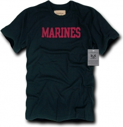 View Buying Options For The RapDom Marines Basic Felt Applique Mens Tee