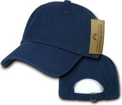 View Buying Options For The RapDom Plain Vintage Washed Mens Polo Cap