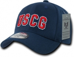 View Buying Options For The RapDom Coast Guard USCG FitAll Flex Mens Fitted Cap