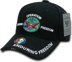 View Buying Options For The RapDom Operation Enduring Freedom Deluxe Milit. Mens Cap
