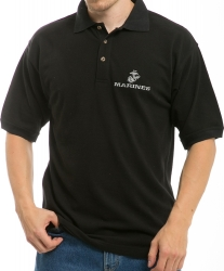 View Buying Options For The RapDom Marines Embroidered Mens Polo Shirt