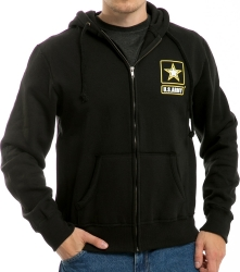 View Buying Options For The RapDom Army Printed Full-Zip-Up Mens Hoodie Jacket